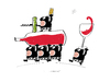 Cartoon: Sawine (small) by Herme tagged wine bar pub