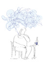 Cartoon: the blue smoke (small) by Herme tagged cigarette smoker addiction