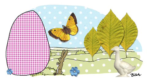 Cartoon: Osterüberraschung (medium) by BiSch tagged ei,egg,ostern,easter,osterhase,hase,bunny,osterhase,ostern,hase
