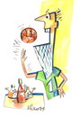 Cartoon: Pizza and Basketball (small) by Kestutis tagged pizzapitch,ball,sports,fun,championships,basketball,pizza,kestutis,lithuania
