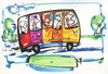 Cartoon: Travel (small) by Kestutis tagged bus,travel