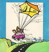 Cartoon: Voyage (small) by Kestutis tagged there,summer,kestutis,siaulytis,lithuania,adventure,road,car,voyage