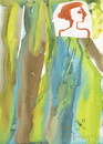 Cartoon: Watercolor form (small) by Kestutis tagged dada,watercolor,form,kestutis,lithuania,art,kunst