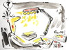 Cartoon: What are the problems? (small) by Kestutis tagged artist,cartoonist,stars,light,problems,rating
