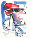 Cartoon: Winter Olympic. Ready for racing (small) by Kestutis tagged racing,olympc,sports,winter,sochi,2014,kestutis,lithuania