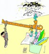 Cartoon: Economie (small) by okoksal tagged koeksal