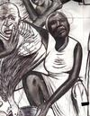 Cartoon: voodoo ceremony (small) by odinelpierrejunior tagged drawings,paintings,cartoons,designs,images,pictures