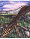 Cartoon: breathless view (small) by odinelpierrejunior tagged trees,lakes,nature,drawings,paintings,design