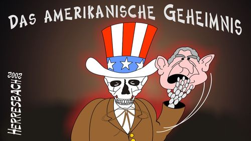 Cartoon: Cartoon 0116 (medium) by cartoonfuzzy tagged usa,busch,tod,sam,humourus,humoristico,globalization,cartoons,cartunes,caricature,caricatura,caricaturas,karikaturen,politik,political,herresbach,wahlen,freiheit,globalisierung,krieg,michel,deutscher,innenpolitik,aussenpolitik,comixfuzzy,cartoonfuzzy