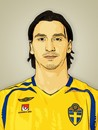 Cartoon: Zlatan Ibrahimovic (small) by cartoon photo tagged cartoon,photo,zlatan,ibrahimovic,footballer,soccer,sportsman,athlete,cartoonized,cartoonization
