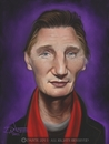 Cartoon: Liam Neeson Caricature (small) by Dante tagged liam,neeson,caricature
