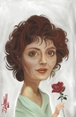 Cartoon: Susan Sarandon Caricature (small) by Dante tagged susan,sarandon,caricature