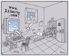 Cartoon: www.liberty.com... (small) by Riko cartoons tagged riko cartoon internet liberty