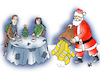 Cartoon: Christmas (small) by Vejo tagged christmas,yellow,vests,poverty,anger,injustice