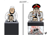 Cartoon: EGYPT (small) by Vejo tagged egypt,morsi,army,massacre,religion,politics