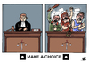 Cartoon: JUSTICE... (small) by Vejo tagged justice,lynch,mob,human,rights