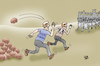 Cartoon: Lockdown party (small) by Vejo tagged corona,party,virus,covid19,rules