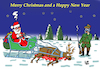Cartoon: Santa Claus (small) by Vejo tagged santa,claus,christmas