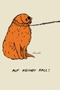 Cartoon: Auf keinen Fall! (small) by motoko tagged hund,dog,spazieren,gehen,golden,retriever,hana
