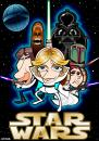 Cartoon: Star Wars (small) by spot_on_george tagged star wars jedi darth vader wooky luke skywalker caricature