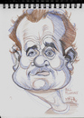 Cartoon: Caricature of Bill Murry (small) by McDermott tagged actor,famous,cartoon,caricature,mcdermott,caddyshack,murry