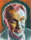 Cartoon: Illustration of Vincent Price (small) by McDermott tagged bluewatercomics,vincentprice,horror,illustration,colorpainting,monsters,scary,mcdermott