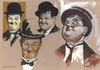 Cartoon: Laurel and Hardy Famous Comedian (small) by McDermott tagged laurelandhardy famous comedian tv comedy mcdermott