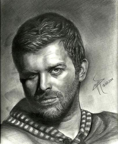 Cartoon: kivanc tatlitug (medium) by ressamgitarist tagged drawing,portrait