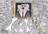 Cartoon: Crisis (small) by cristian constandache tagged world,humanity,crisis,cristian,constandache,free,academy,graphic,art,paula,salar,romania,dog,reach,poor,exhibition,gallery,ink,lines,black,white,cartoon,cartoonist,child,young,people,creation,talented,genius,watercolor,draw,sketch,teacher,master,culture,m