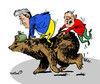 Cartoon: ... (small) by to1mson tagged poroszczuk,luaszenko,poroshenko,lukaschenko,rossia