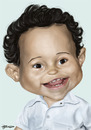 Cartoon: Bebe (small) by manohead tagged manohead,caricatura,caricature