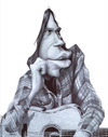 Cartoon: Neil Young (small) by manohead tagged manohead,caricatura,neil,young