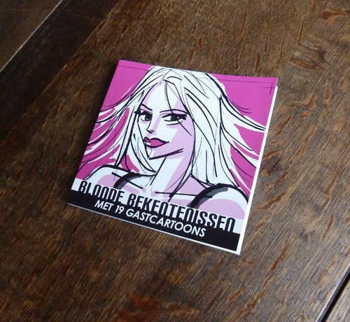 Cartoon: Blonde Bekentenissen - The Book! (medium) by Age Morris tagged agemorris,victorzilverberg,blondebekentenissen,atoomstijl,cartoonboek,cartoonbundel,gastcartoons