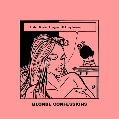 Cartoon: Blonde Confessions - Listen Mr! (medium) by Age Morris tagged tags,victorzilverberg,atomstyle,blondeconfessions,agemorris,aboutloveandlife,dumbblonde,hotbabe,boobs,blonde,neglect,everybody,all,lover,honey,mistress,relationship
