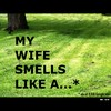 Cartoon: MH - My wife smells like a... (small) by MoArt Rotterdam tagged google,googlehits,manandwife,marriage,maritalissues,mywifesmells,smelllikea