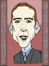 Cartoon: Nicolas Cage (small) by Vidal tagged nicolas cage
