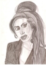 Cartoon: amy winehouse (small) by paintcolor tagged amy,winehouse,singer,rock,star,legend