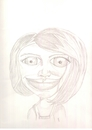 Cartoon: kid (small) by paintcolor tagged caricature,kid,girl