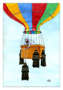 Cartoon: Altitude Flight (small) by Makhmud Eshonkulov tagged islam
