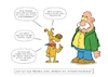 Cartoon: Erziehung (small) by Christoon tagged erziehung,hund,tierheim