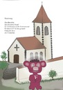 Cartoon: Bekehrung (small) by gege tagged tier,tiere,fromm,natur,brombeere,beere,beeren,kirche,kapelle