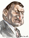 Cartoon: Mubarak (small) by Bob Row tagged mubarak egipt dictators