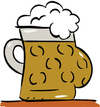 Cartoon: Bierbauch (small) by subbird tagged bierbauch,bier,oktoberfest