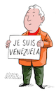 Cartoon: Je Suis Venezuela. (small) by Cartoonarcadio tagged maduro,venezuela,libertad,latin,america