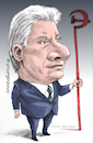 Cartoon: Miguel Diaz Canel-Cuba (small) by Cartoonarcadio tagged cuba,president,communism,socialism,castro