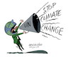 Cartoon: Stop Climate Change. (small) by Cartoonarcadio tagged climate change the environment global warming planet