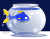 Cartoon: Strange fish tank. (small) by Cartoonarcadio tagged fish tank humor cartoon