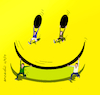 Cartoon: Take this cartoon with humor (small) by Cartoonarcadio tagged cartoon smile humor happyness