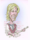 Cartoon: Dave Gregg caricature (small) by Harbord tagged dave,gregg,punk,guitarist,doa,vancouver