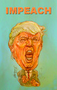 Cartoon: IMPEACH (small) by Harbord tagged trump,donald,impeach,liar,orange